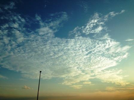いわし雲20140922072012