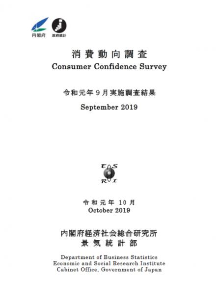 消費者動向調査
